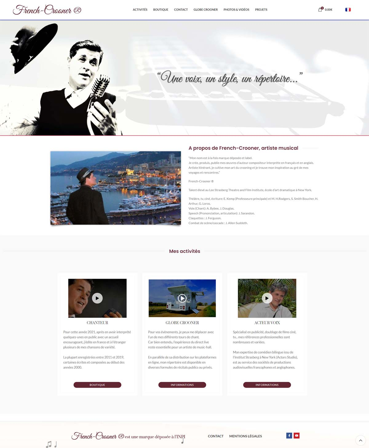 Image1 portfolio French crooner