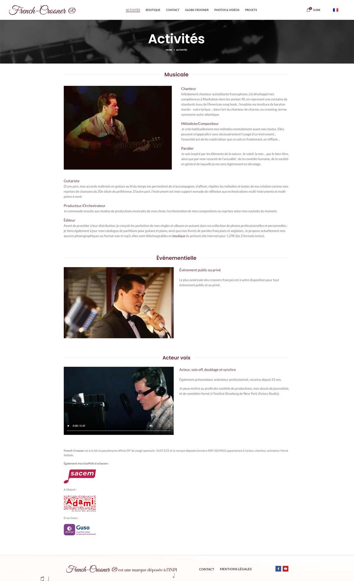 Image5 portfolio French crooner