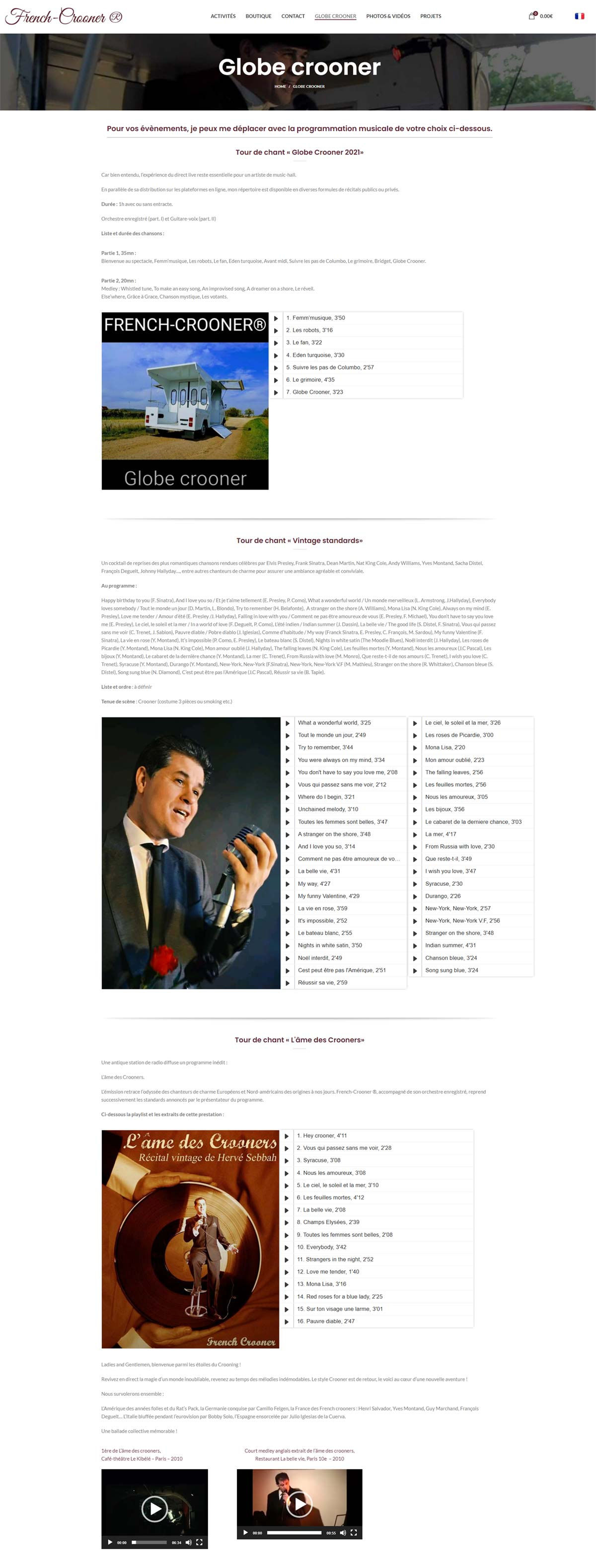 Image6 portfolio French crooner